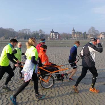 La Transbaie 2019 est une aventure pour tous, 8 joelettes vont s'élancer dans la course…